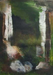 Mixed media on Fabriano paper, 70x50cm