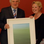 Presentation of painting to Mr Bertie Ahern